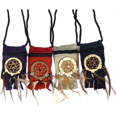 Leather Dream Catcher Pouches $14.99 each