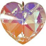 40 mm AURORA BOREALIS CRYSTAL HEART  $29.99