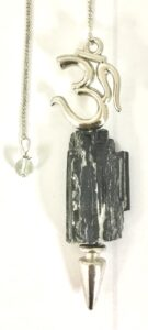 Black Tourmaline Rock Om Pendulum $16.99
