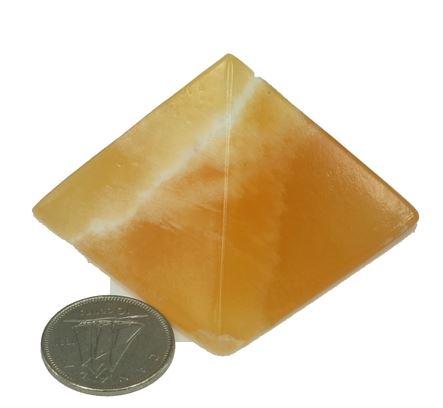 Orange Calcite Pyramid M/14.99 L/$19.99