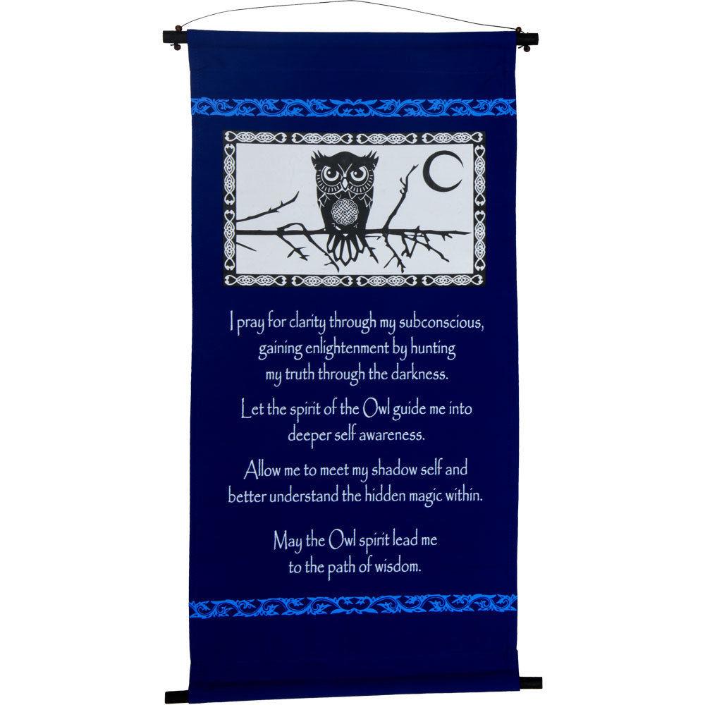 Owl Spirit Banner $45.99