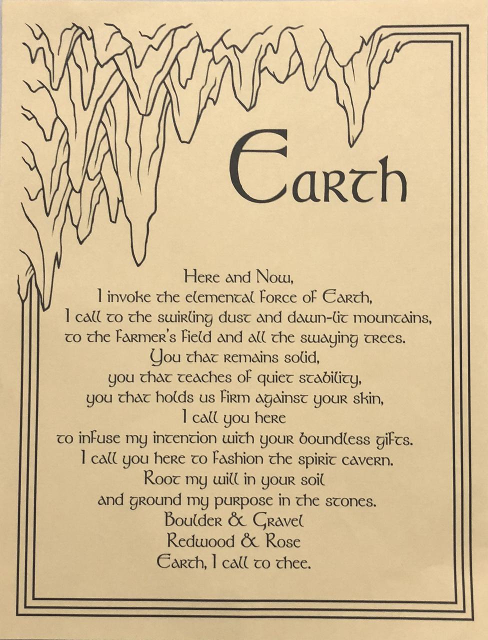 Prayer Poster Earth $4.99