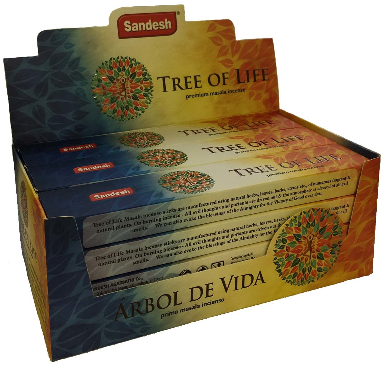 1 pack of 12 incense $3.99 each