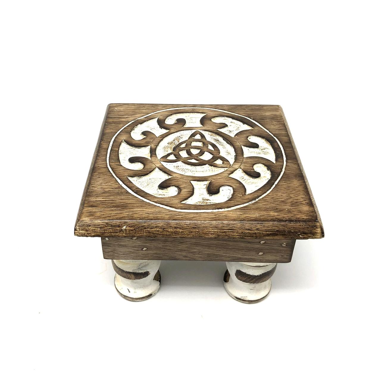 Wood Altar table Triquetra 6x 4 $24.99