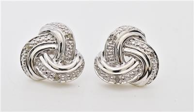 1.10 0ctw H-SI Diamond Forever Knot SS $299